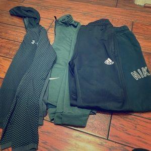 Boys lot bundle of clothes size L-XL many brands